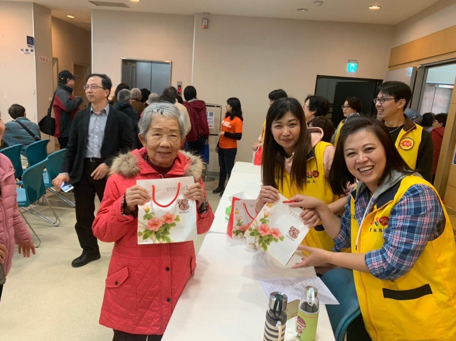 台灣失智症協會-團拜志工活動
