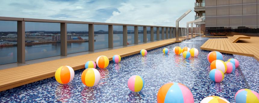 兒童戲水池 屋外プール/子供用プール