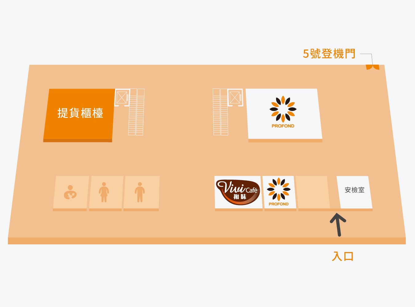 澎湖馬公機場平面圖