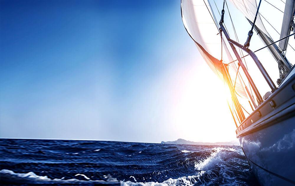 Sail towards Penghu Bay