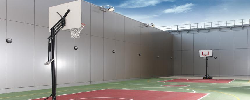 高空篮球场