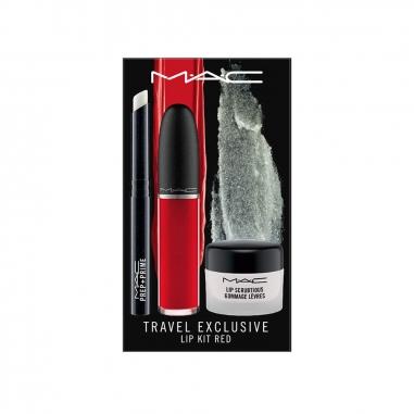 MACMAC 旅行獨家:紅色唇膏三件特惠組