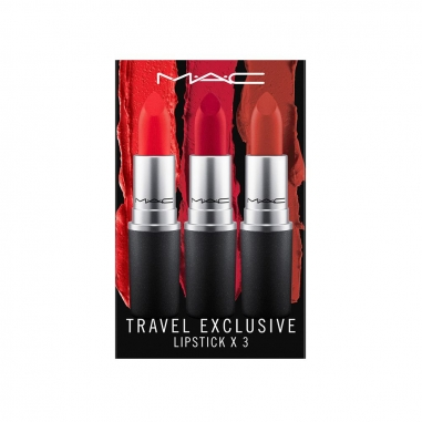 MACMAC 旅行套組:唇膏三件特惠組