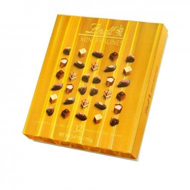Lindt瑞士蓮 精選迷你巧克力金盒裝