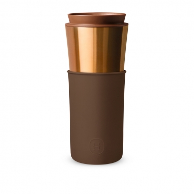 HYDY海迪 古銅金隨行咖啡杯-摩卡