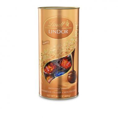 Lindt瑞士蓮 綜合軟心巧克力筒裝