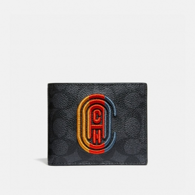 Coach蔻馳(精品) COMPACT ID WALLET小皮件