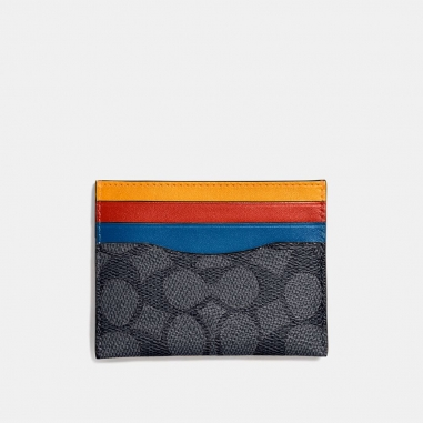 Coach蔻馳(精品) FLAT CARD CASE小皮件