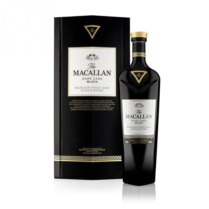 MACALLAN麥卡倫 《送旅行包》奢想-湛黑 單一麥芽威士忌