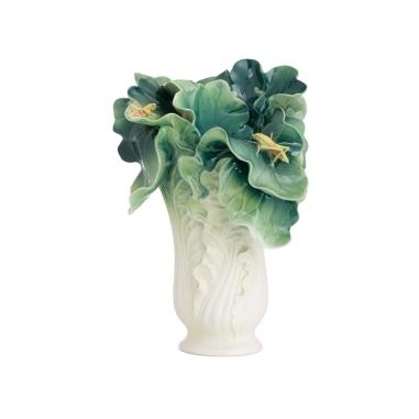 FRANZ法藍瓷 故宮系列-翠玉白菜瓷瓶