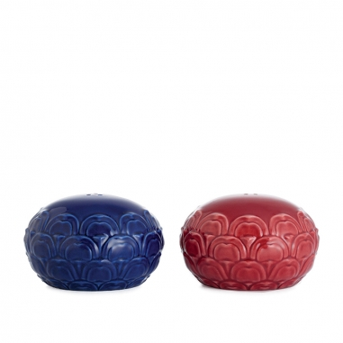 FRANZ法藍瓷 故宮系列-祭紅霽青椒鹽罐