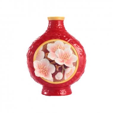 FRANZ法藍瓷 故宮梅香小花瓶