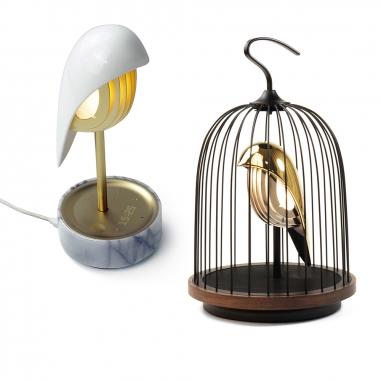 DAQICONCEPTDAQICONCEPT 鳥鳴時計+無線鳥籠燈組(贈限量燈罩)