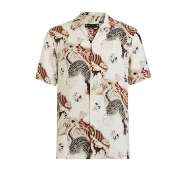 AllSaints歐聖 AKITA 男性襯衫