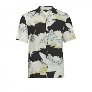 AllSaints歐聖 SOARING 男性襯衫