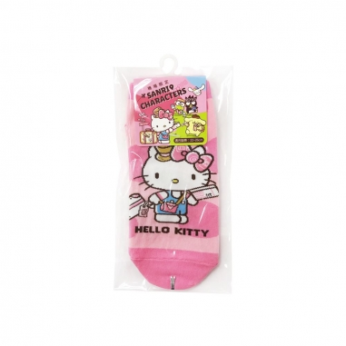 Hello KittyHello Kitty HELLO KITTY好朋友短襪-HELLO KITTY