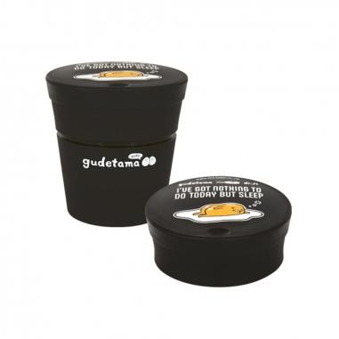 dr.Si矽寶巧 蛋黃哥(黑)矽寶巧力杯