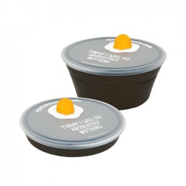 dr.Si矽寶巧 蛋黃哥(黑)矽寶巧力盒