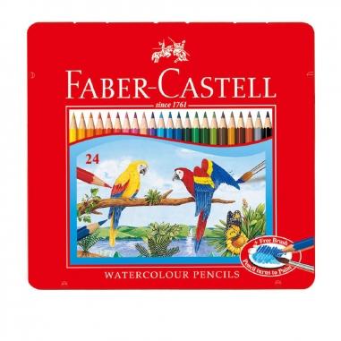 Faber-Castell輝柏 24色水彩色鉛筆(附水彩筆)