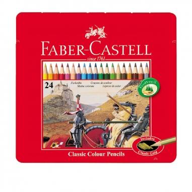 Faber-Castell輝柏 24色油性色鉛筆