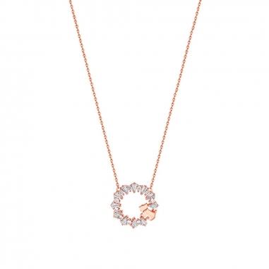 AGATHA璦嘉莎 Garland 玫瑰金項鍊