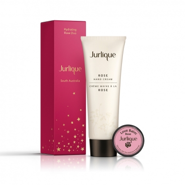 Jurlique茱莉蔻 《聖誕限定》玫瑰戀語星選特惠組禮盒