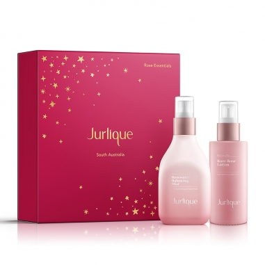 Jurlique茱莉蔻 《聖誕限定》玫瑰面部保濕星選特惠組禮盒