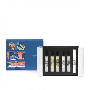 diptyquediptyque 《聖誕限定》淡香精禮盒5入特惠組