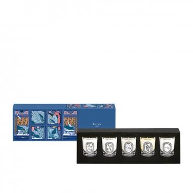 diptyquediptyque 《聖誕限定》迷你香氛蠟燭禮盒5入特惠組