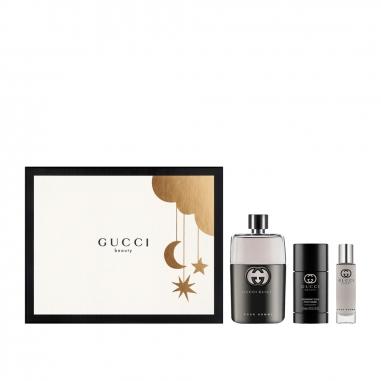 Gucci Makeup & Fragrance古馳 《限定版》罪愛男士淡香水聖誕禮品特惠組