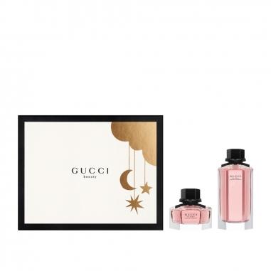 Gucci Makeup & Fragrance古馳 《限定版》華麗梔子花女性淡香水聖誕禮品特惠組