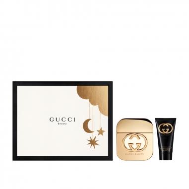 Gucci Makeup & Fragrance古馳 《聖誕限定》罪愛女性淡香水聖誕禮品特惠組