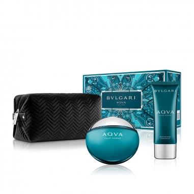 BVLGARI寶格麗(香水) 《聖誕限定》水能量男士淡香水特惠組
