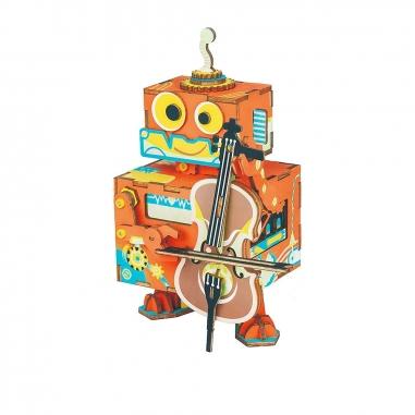 ROBOTIMEROBOTIME DIY手作音樂盒-大提琴詩人