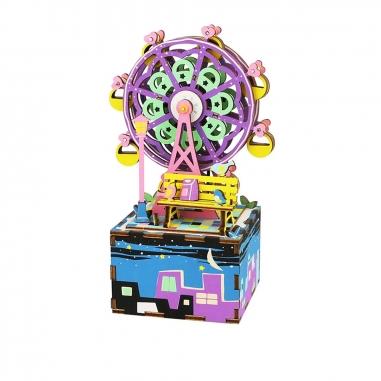ROBOTIMEROBOTIME DIY手作音樂盒-摩天輪