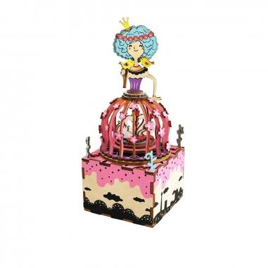 ROBOTIMEROBOTIME DIY手作音樂盒-天鵝公主