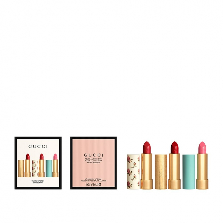 GUCCI Travel Lipstick Collection古馳唇膏特惠組