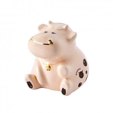 EVERRICH昇恆昌獨家開發監製 珍珠奶牛撲滿-奶茶