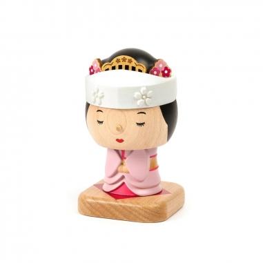 Jean Cultural知音文創 彈簧擺飾-日本新娘