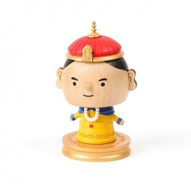 Jean Cultural知音文創 彈簧擺飾-中國皇帝