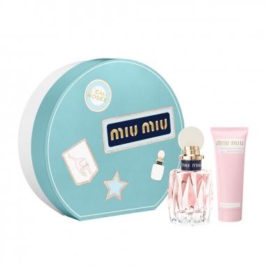 Miu Miu繆繆(香水) 繆繆粉色嬉遊淡香水禮盒特惠組
