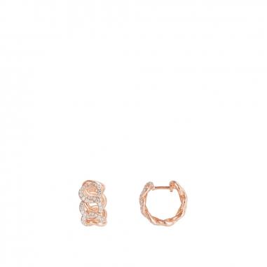 APM MonacoAPM Monaco ROCK窄鏈耳環