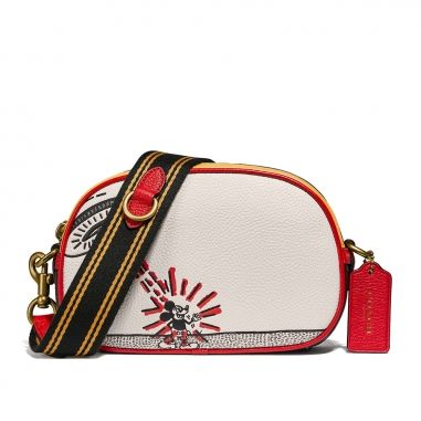 Coach蔻馳(精品) BADGE CAMERA CROSSBODY 斜背包