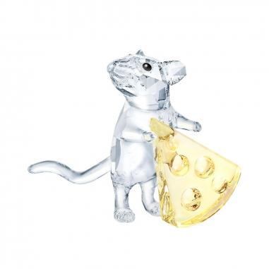 Swarovski施華洛世奇 小老鼠與起士