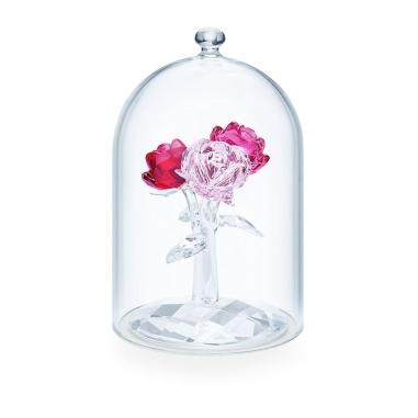 Swarovski施華洛世奇 瓶中玫瑰花束