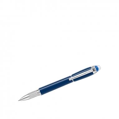 Montblanc萬寶龍(精品) 星際行者藍色星球系列珍貴樹脂細字筆