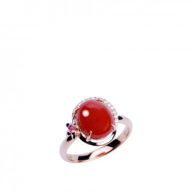 Ever Rich Jewelry昇恆昌珠寶 珊瑚戒指