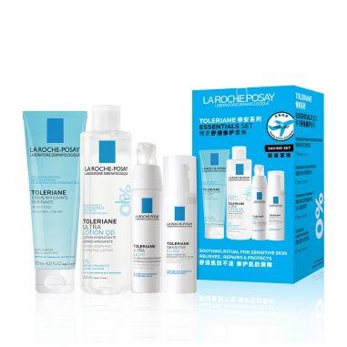 La Roche-Posay理膚寶水 多容安舒緩修護特惠組