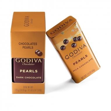 GodivaGodiva GODIVA 綜合巧克力豆三入裝