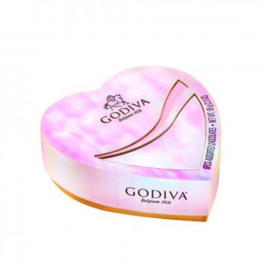GodivaGodiva GODIVA 巧克力心型禮盒六顆裝